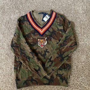 Polo by Ralph Lauren Shirts - Ralph Lauren Tiger Sweat Shirt